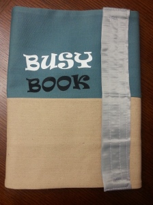 busy book cover