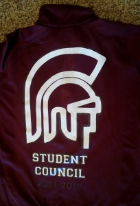 Rigby High School Student Council Jackets 2014-2015