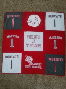 2015 madison high school blanket